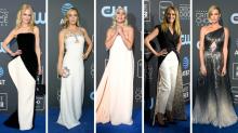 Lady Gaga beeindruckt in ätherischem Outfit bei den Critics' Choice Awards
