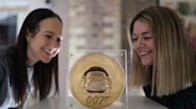 Royal Mint unveils seven-kilo gold coin as part of James Bond collection