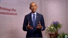 """Présidentielle américaine : Kamala Harris et Barack Obama chargent Donald Trump, qui n'a """"jamais"""" pris """"son rôle au sérieux"""""""
