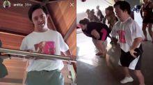 Anitta apresenta novo dançarino portador da Síndrome de Down