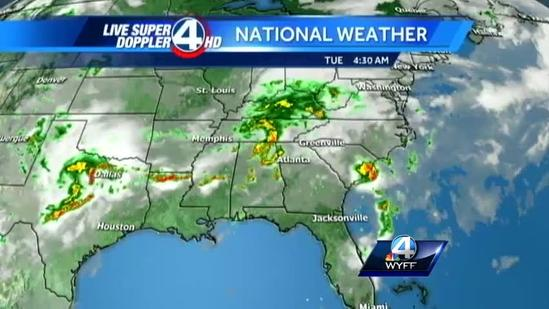 Chris Justus' Forecast for Tuesday, June 18, 2013