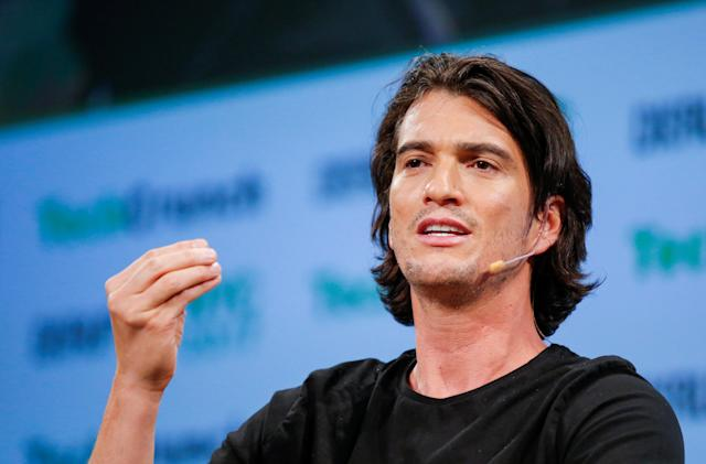 Apple will produce a series on WeWork's fall from grace