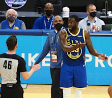 Draymond Green got ejected after yelling at teammate James Wiseman