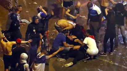 Francia: un muerto, saqueos y destrozos en la celebración