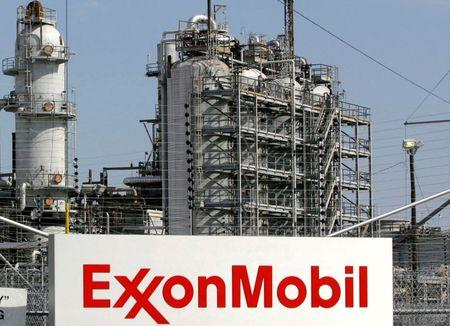 A view of the Exxon Mobil refinery in Baytown, Texas in this file photo