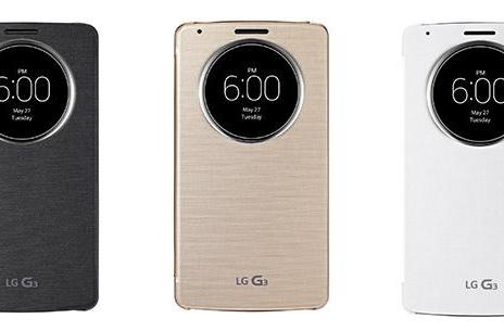 LG's 'QuickCircle' G3 case opens a window into your phone