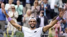 Berrettini emulates Becker with Queen's title at 1st attempt