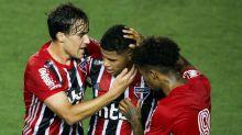O XI ideal combinado entre São Paulo e River Plate, com base nas prováveis escalações