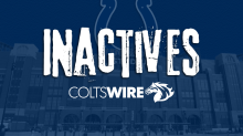 Colts vs. Titans: Inactive players in Week 12