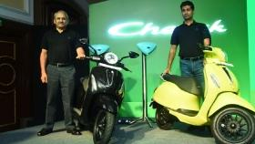 Bajaj Chetak Electric Scooter Launched, Prices Start at Rs 1 Lakh