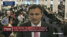 ECB could hike rates by the end of 2019, economist says
