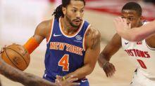 Basket - NBA - Derrick Rose attendu dans le groupe des Knicks après un test Covid concluant