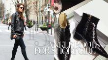 Ankle Boots 絕對不是嬌小女生的大忌:3 大挑選秘技 × 15 雙適合你的款式推介!