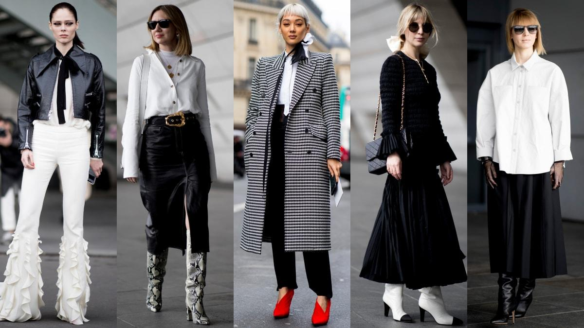18a46db2394 Black-and-White Looks Were a Street Style Favorite on Day 7 of Paris  Fashion Week