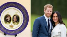 Hilarious Royal Wedding Plate
