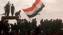 Iraqi forces use water cannon, tear gas against protesters in Baghdad