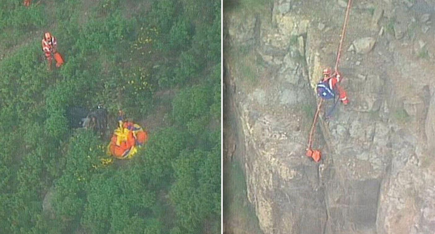 Paraglider dies after smashing into cliff face in NSW