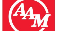 American Axle & Manufacturing Holdings, Inc. Announces Secondary Common Stock Offering