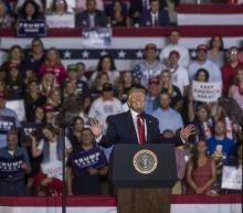 Trump praises 'send her back' rally crowd as 'incredible patriots'