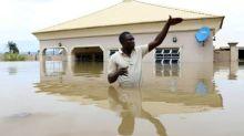 Rund hundert Tote bei schweren Überschwemmungen in Nigeria