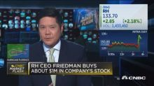RH CEO buys about $1 million in company's stock