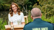 Prince William and Kate 'in awe' of emergency workers as they announce £1.8 million fund to support mental health