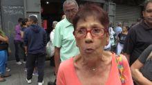 Largas filas en Venezuela para comprar con bono en criptomoneda estatal