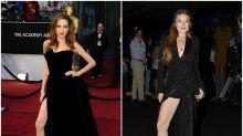 Lindsay Lohan se marca un 'Angelina' en la MBFWM