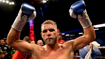 Billy Joe Saunders says sorry after clip of him teaching men how to hit partners