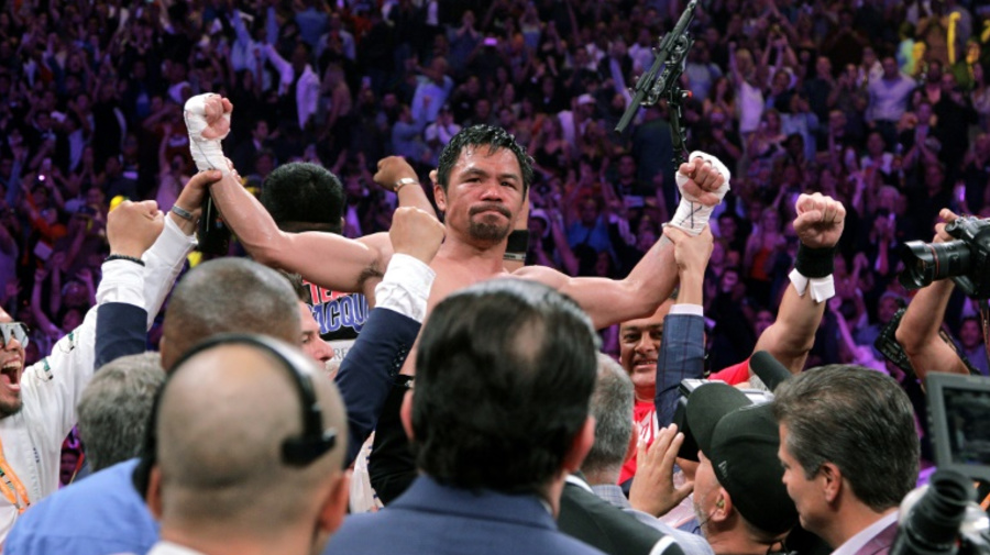 Fight Mayweather or retire, Arum tells Pacquiao