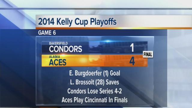 Condors fall to Aces, ending most successful season yet