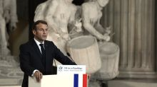 Macron decries 'Islamic separatism,' defends blasphemy