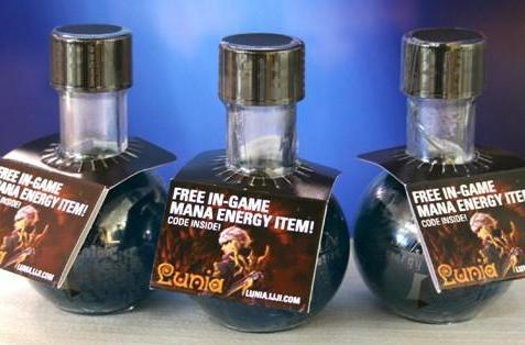 Mana Energy Potions being sold in Lunia MMO