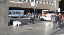 Pedone investito da un bus alla stazione Tiburtina: morto dopo ore di agonia