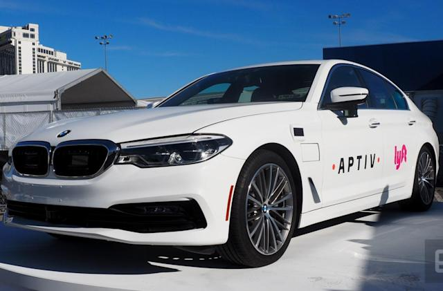Lyft and Aptiv complete 5,000 self-driving rides in Las Vegas
