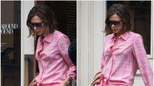 Victoria Beckham sale a pasear por Nueva York en pijama