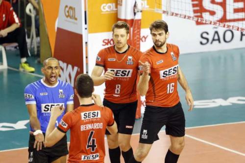 Sesi-SP faz primeiro confronto contra o Minas Tênis Clube