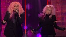 James Corden and Cyndi Lauper Parody Gender Wage Gap With 'Girls Just Want Equal Funds'