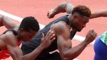 DK Metcalf's 100-Meter Race Against World-Class Sprinters Should Terrify NFL Defenses