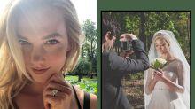 更多婚禮絕密片段!新婚的 Karlie Kloss 選擇跟丈夫來個「Minimoon」!