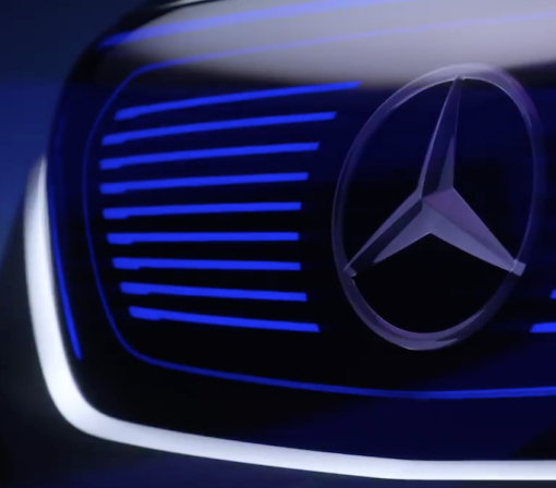 Here's Our First Look at Mercedes-Benz's Futuristic Electric Concept Car