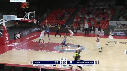 Basket - Jeep Elite : Le résumé de Cholet - Boulogne-Levallois