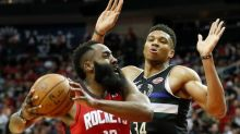 """Giannis Antetokounmpo shrugs off James Harden dig, """"I'm just trying to do my job"""""""