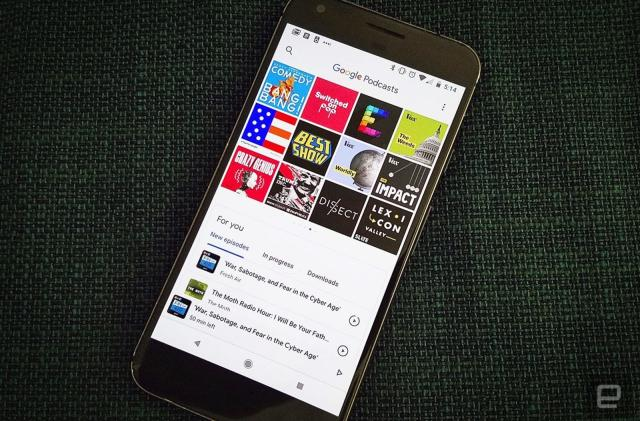 Google Podcasts is finally sifting through individual episodes