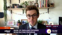 Bank of England expands bond buying program