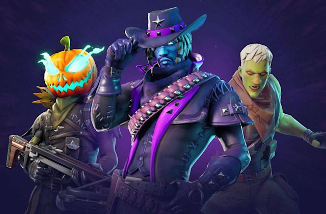 'Fortnite' celebrates Halloween with themed outfits and challenges