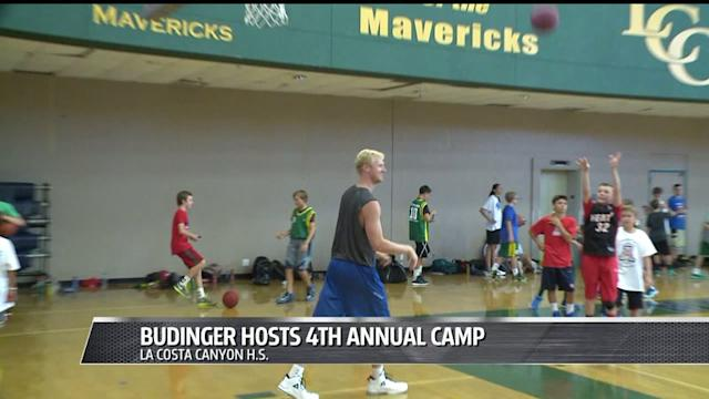 Chase Budinger Holds Annual Summer Camp For Kids