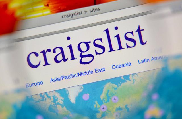 Craiglist blocks personal ads to protest anti sex-trafficking law