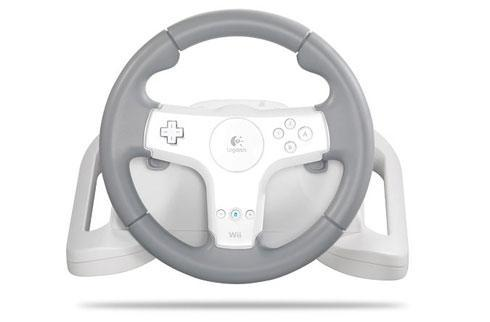 Wii gets first force feedback wheel from Logitech