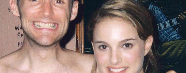 Moby and Natalie Portman in 2001. (Instagram)